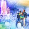 Da staunt die ganze Familie: Faszinierende Eiskunstwerke im Eispalast am Dachstein.