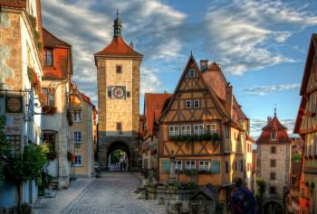Das Plönlein ist eines der beliebtesten Fotomotive in Rothenburg.