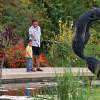 Lädt zum Verweilen ein: Vater und Sohn verbringen einen Nachmittag in den Denver Botanic Gardens.