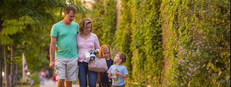 Mehr als 9 Hektar Fläche versprechen tolle Tage und ein großartiges Ausflugsziel für die ganze Familie.