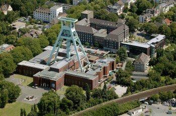 Luftaufnahme des Deutschen Bergbaumuseums in Bochum