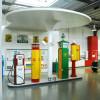 Die Tankstelle in Halle II.