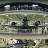 Luftfahrt Blick in die Luftfahrthalle