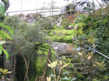 Im Zen-Garten herrscht Ruhe und Entspannung.