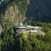Die Bergstation der Lake Louise Seilbahn