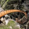 Spektakulär ist die neue Helix-Treppenanlage in der Liechtensteinklamm.