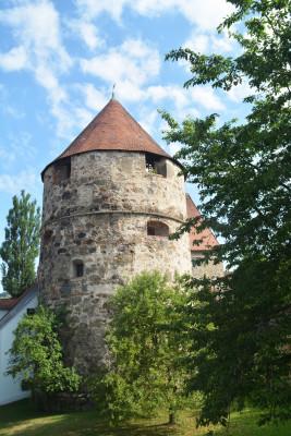 Der Peichterturm war Teil der Befestigungsanlage.