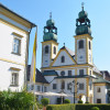 Das Kloster Maria Hilf.