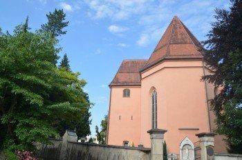 Die Kirche St. Severin.