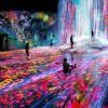 Im Digital Art Museum verschmelzen Kunst und Erlebnis.