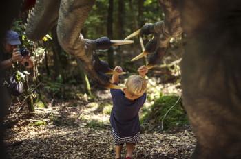 Der Dinosaurier Park macht Evolution zum aktiven Erlebnis.