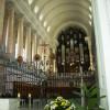 Der langestreckte Chor des Doms