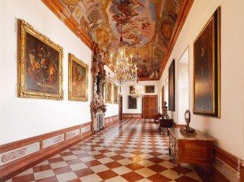 Die Bildergalerie in der Residenz