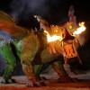 Im Guinessbuch der Rekorde steht der Drache als größter 4-beiniger Schreitroboter der Welt