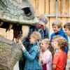 Der Drachen hat aber große Zähne.