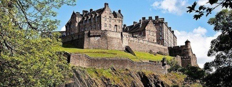 Das beeindruckende Edinburgh Castle