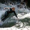 Flusssurfen wird in der Szene immer beliebter.