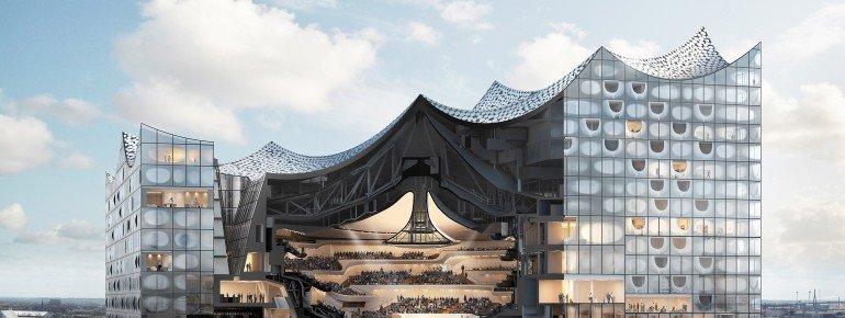 Nicht nur die äußere Architektur ist beeindruckend, auch im Inneren haben die Architekten ganze Arbeit geleistet.