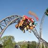 Die Katapult-Achterbahn Karacho beschleunigt von 0 auf 100 km/h in nur 1,6 Sekunden.