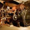 Highlight der Erlebniswelt ist die größte Dampfmaschine Ostbayerns.