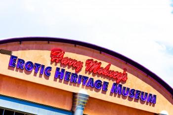 Das Erotic Heritage Museum befindet sich mitten im Herzen von Las Vegas, im Sammy Davis Jr. Drive.