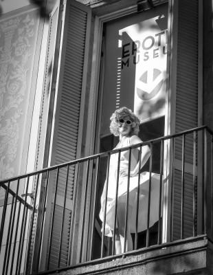 Am eindrucksvollsten erlebst du das Erotikmuseum bei einer Führung mit Marilyn Monroe.