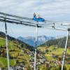 Der Drachenflitzer ist das Herzstück im Familienerlebnis Drachental.