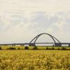 Von den Einheimischen wird die Brücke liebevoll als Kleiderbügel bezeichnet.