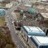 Blick vom Fernsehturm auf den Berliner Dom