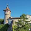 Die Festung Munot ist das Wahrzeichen von Schaffhausen.