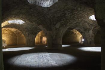 Die Kasematte hat einen Durchmesser von 50 Metern.