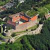 Hoch über Kulmbach thront die fürstliche Residenz und wehrhafte Festung.