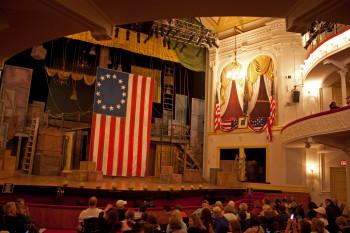 Innenansicht des Ford's Theatre, Washington D.C.