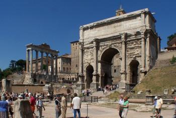 Der Triumphbogen des Septimius Severus