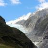 Die Gletscherzunge des Franz Josef