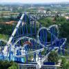 Die Blue Tornado Achterbahn verspricht Adrenalin pur