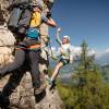 Drachis Klettersteig für Jugendliche & Anfänger am Geisterberg in St. Johann - Alpendorf