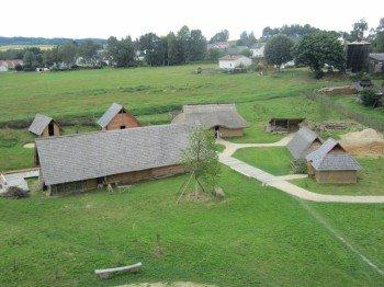 Der Baubestand des Geschichtsparks im Jahr 2012