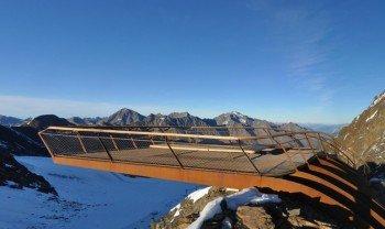 20 Tonnen Stahl wurden für die Plattform verbaut.
