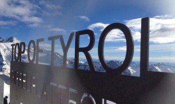 Top of Tyrol auf 3.210 Metern Höhe