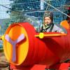 Auf dem Kinderparcours haben die Kleinen jede Menge Spaß.