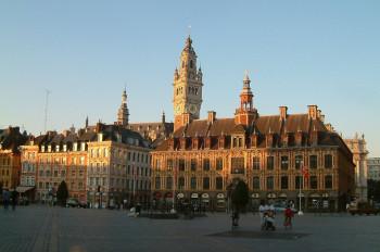 Die alte Börse von Lille