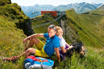 Startpunkt ist die Bergstation der Stubnerkogelbahn in Bad Gastein.