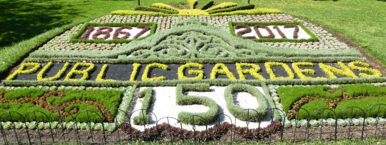 2017 feierten die Halifax Public Gardens ihr 150stes Jubiläum.
