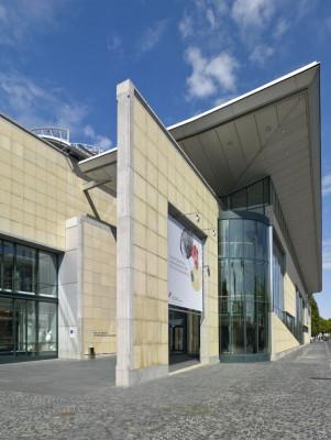 Der Haupteingang des Museums