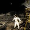 Auch die Mondlandung wird thematisiert im Haus der Natur.