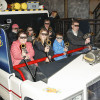 """Auf eine interaktive Geisterjagd begeben sich Besucher im """"Ghostbusters 5D""""."""