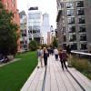 Der High Line Park zieht sich auf 9 Metern Höhe durch die Häuserschluchten der West Side.