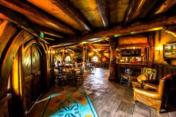 Im Inneren einer Hobbithöhle