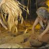 Darstellung menschlicher Geschichte in der Cueva de las Ventanas